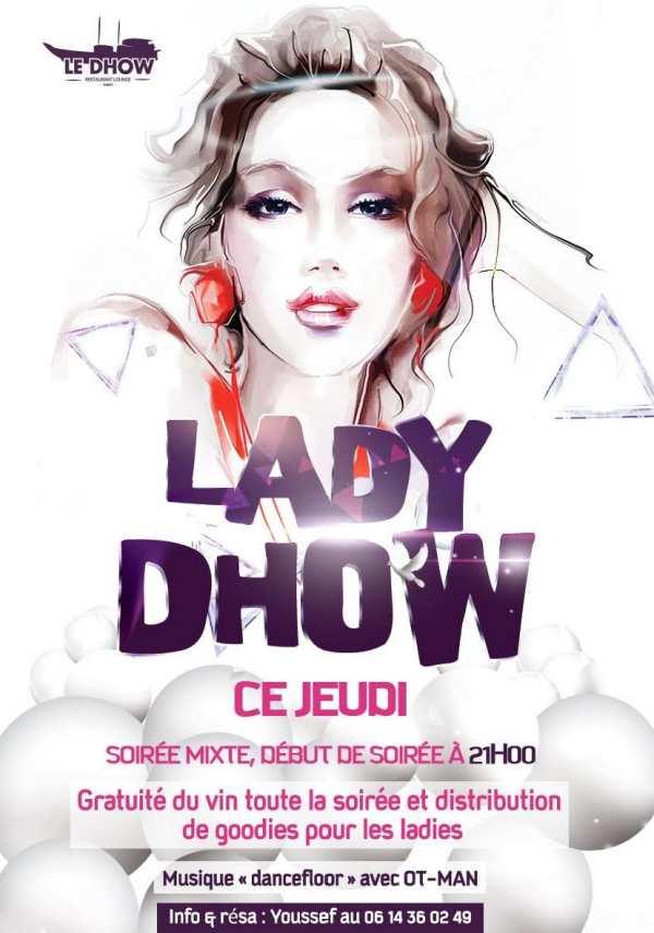 Soirée Lady-Dhow à Rabat sur le Dhow