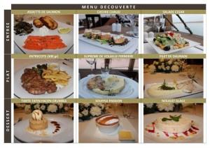 Restaurant Le Dhow à Rabat Menu découverte à 145 Dh