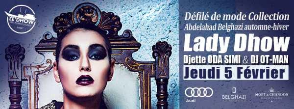 Le Dhow - Rabat Défilé de mode Abdelahad Belghazi