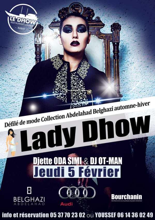 Le Dhow - Rabat Défile de mode Abdelahad BELGHAZI