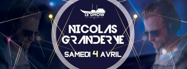 Nicolas Granderye au Dhow à Rabat