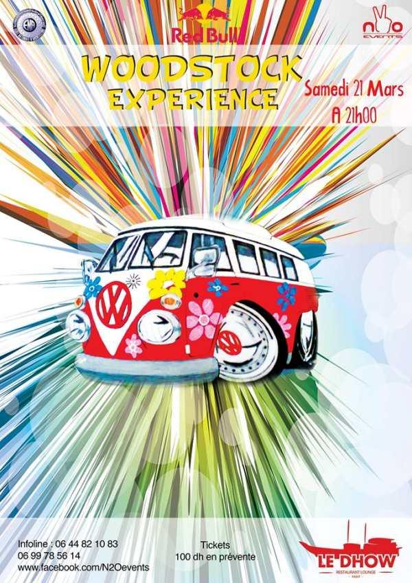 Woodstock Experience à Rabat au Dhow