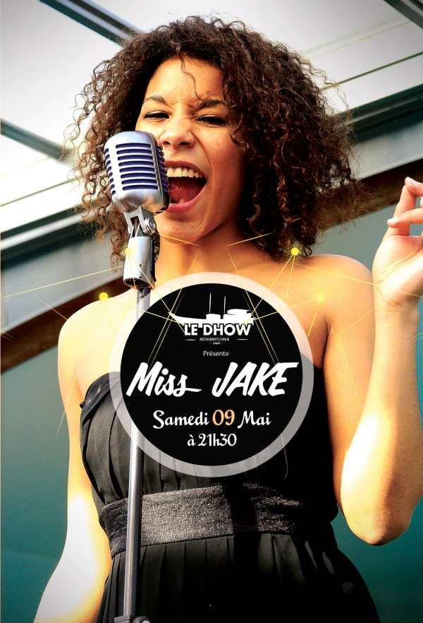 Miss JAKE à Rabat au Dhow