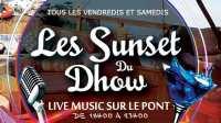 Les Sunset du Dhow à Rabat