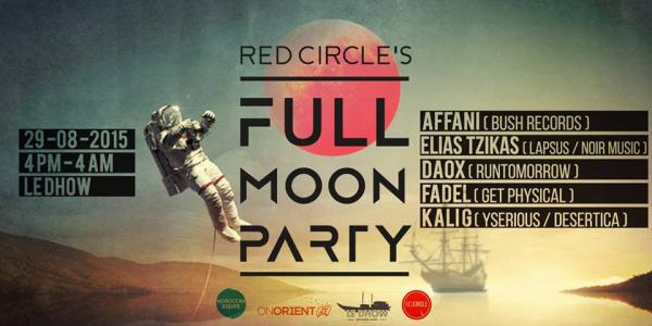 Full Moon Party à Rabat au Dhow