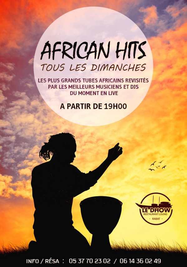 African hits au dhow à Rabat