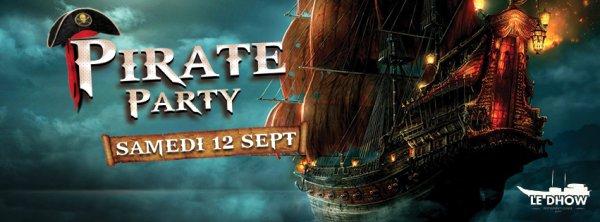 Pirate Party à Rabat avec Acontratiempo au Dhow