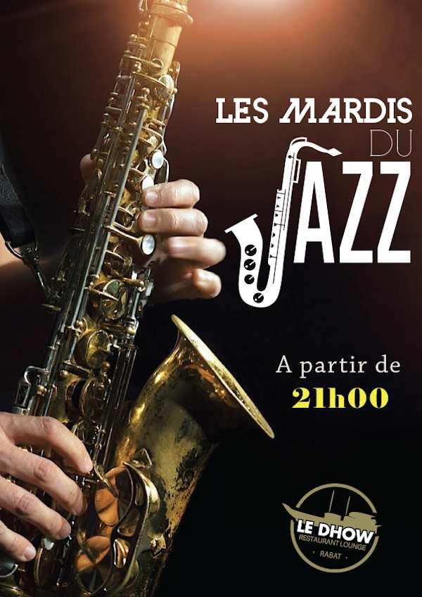 Les mardis du Jazz à Rabat au Dhow