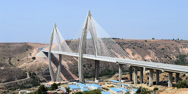 Pont Mohammed 6 Rabat